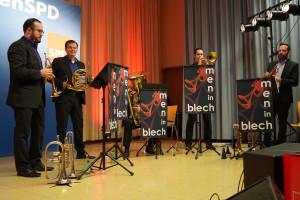 Festmusik von den Men in Blech