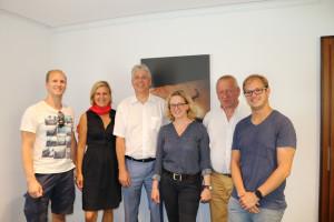 Natascha Kohnen besucht sozial gefördertes Wohnen in Mering