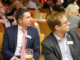 Pause für Stefan Hummel und Christian Gerold