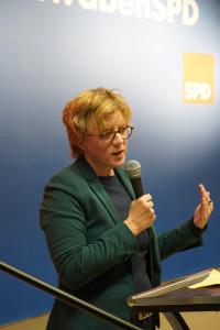 Landesvorsitzende Natascha Kohnen
