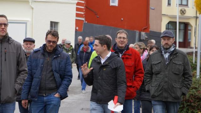 Bürgerspaziergang mit Stefan Hummel
